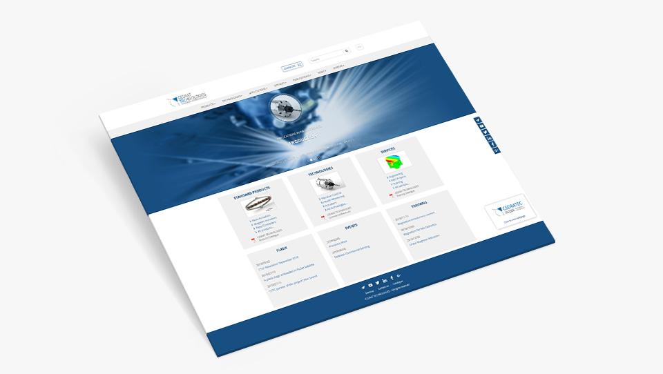 Site web de Cedrat Technologies