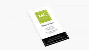 Carte de visite de MC Design