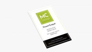 Carte de visite de MC Design